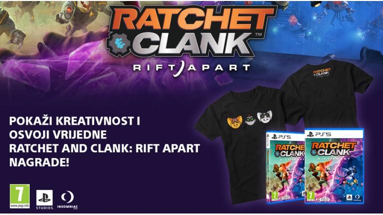 Pravila nagradnog natječaja 'Ratchet & Clank: Rift Apart'