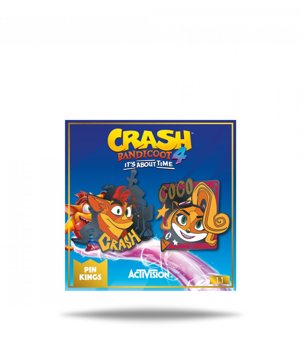 Numskull Crash Bandicoot 4 - Pin Kings 1.1 - Crash and Coco