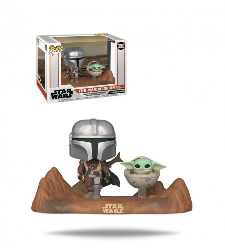 Funko Pop Moment Star Wars: The Mandalorian - The Mandalorian and The Child