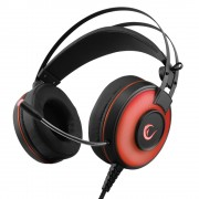 Rampage Alpha-X 7.1 USB Red headset