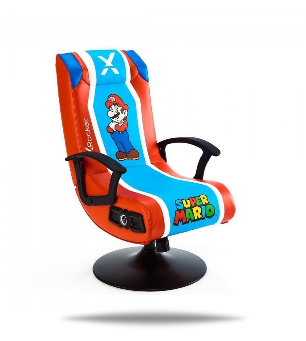 X Rocker Nintendo Super Mario 2.1 gaming stolica