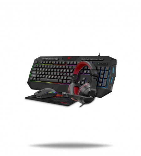Gamenote KB501CM Gaming combo 4-in-1 set
