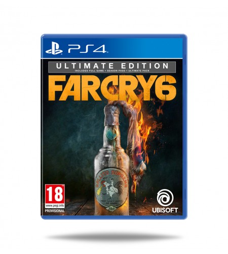 Far Cry 6 Ultimate Edition PS4 (Preorder)