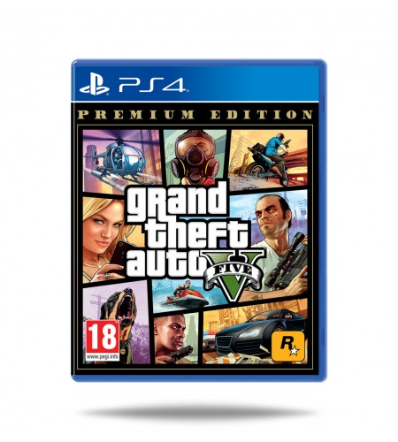 Grand Theft Auto (GTA) V Premium Edition PS4