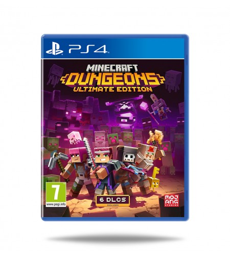 Minecraft Dungeons Ultimate Edition PS4 (Preroder)