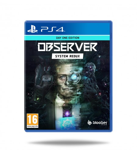Observer: System Redux - Day One Edition PS4
