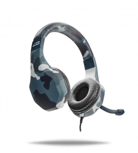 Speedlink PS4 Raidor Camo Blue headset