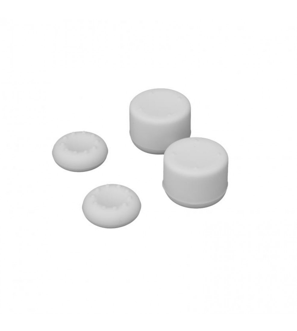 White Shark PS5/PS4 Wheezer Thumb Grips - White