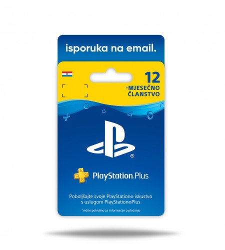 PlayStation Plus pre-paid card 365 dana
