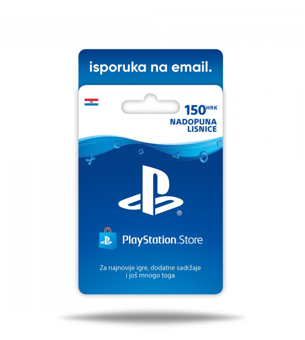 PlayStation Store Pre-paid card 150HRK